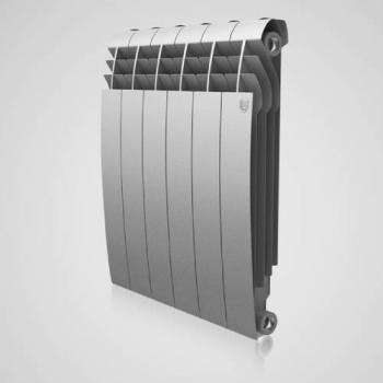 Радіатор опалення Royal Thermo BiLiner 500 - 6 секц. (сірий)