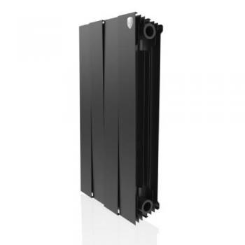 Радіатор опалення Royal Thermo Piano Forte 4 секції (чорний)