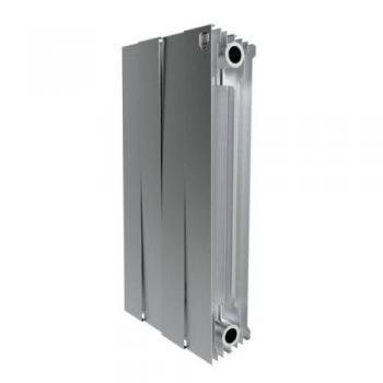 Радіатор опалення Royal Thermo Piano Forte 4 секції (срібний)